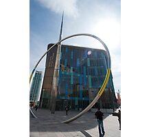 Alliance sculpture, Cardiff Photographic Print