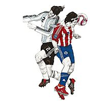 World Cup Soccer - Argentina x Paraguay Photographic Print