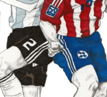 World Cup Soccer - Argentina x Paraguay Sticker