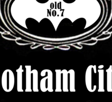 Batman Old No.7 Sticker