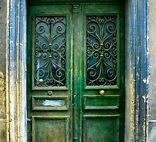 Old Green Door by GeorgiaFowler