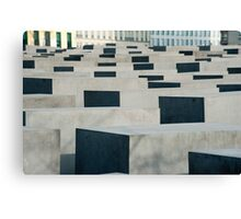 Memorial to the murdered Jews of Europe Canvas Print