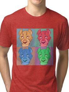 Lions and lions and lions Tri-blend T-Shirt