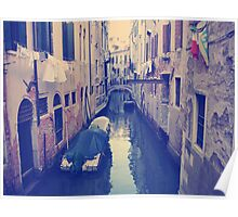 Venice, Italy, Grand Canal and historic tenements Poster