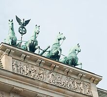Quadriga on the Brandenburg Gate, Berlin by photoeverywhere