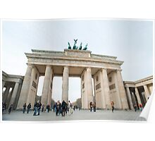 The Brandenburg Gate, Berlin Poster