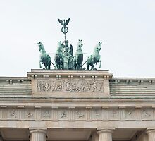 Quadriga, Brandenburg Gate, Berlin by photoeverywhere