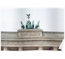 Quadriga, Brandenburg Gate, Berlin Poster