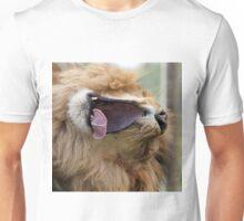 Yawning lion Unisex T-Shirt