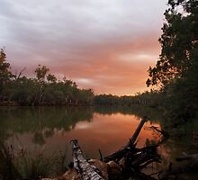Murray River Sunset by Joel Bramley