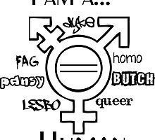 I am human by iJayyQ