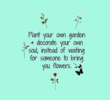 Plant Your Own Garden by xox-