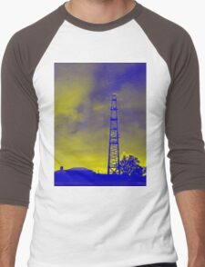 Psychedelic pylon Men's Baseball ¾ T-Shirt