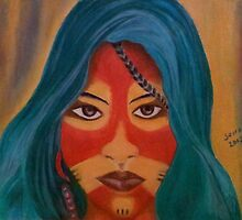 Tribal Beauty by SerranDalmak