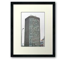 Capital Tower , Cardiff Framed Print