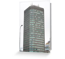 Capital Tower , Cardiff Greeting Card