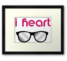 I heart..  Framed Print
