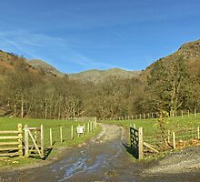 Leaving Coniston Village by VoluntaryRanger