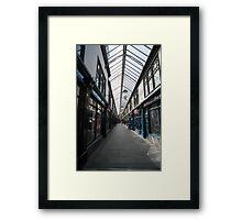 Wyndham arcade Framed Print