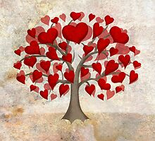 Heart Tree ♥ by Chris Baker