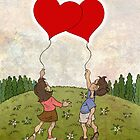 Heart Balloons ♥ by Chris Baker