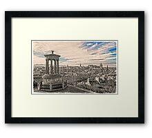 Edinburgh Inception Framed Print