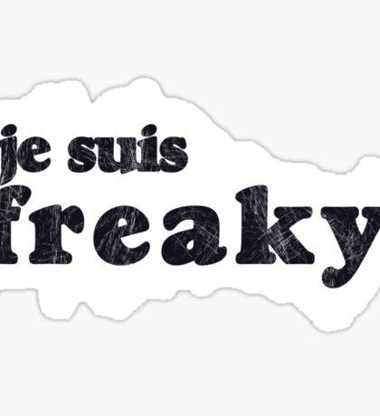 Je suis Freaky! Sticker