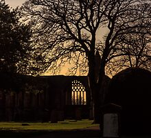 Dunfermline Abbey, Palace and Graveyard Sunset by Miles Gray