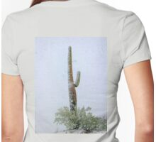 Arizona Snow Storm Womens Fitted T-Shirt