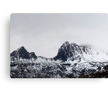 cradle mountain ridge Canvas Print