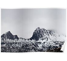 cradle mountain ridge Poster