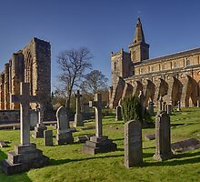 Dunfermline Abbey, Graveyard and Palace, Fife by Miles Gray