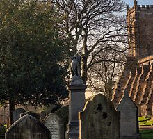 Dunfermline Abbey and Graveyard by Miles Gray