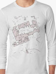 Keep Hosier Real - Melbourne Heritage Overlay Long Sleeve T-Shirt