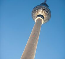 Alexanderplatz Tower in Berlin, Germany by photoeverywhere