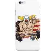 Cross fitness - Puker - USA iPhone Case/Skin
