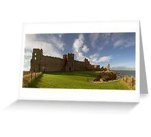 Panoramic View of Tantallon Castle. North Berwick. Scotland Greeting Card