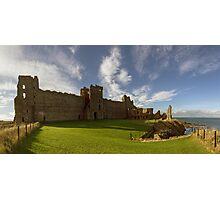 Panoramic View of Tantallon Castle. North Berwick. Scotland Photographic Print