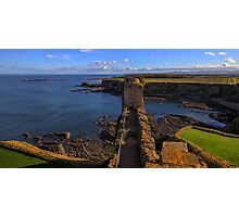 Looking Towards the East Tower, Tantallon Castle. Scotland Photographic Print