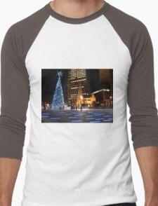 Brisbane at Christmas Men's Baseball ¾ T-Shirt