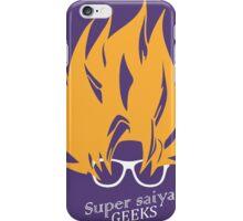 Super Saiya Geeks iPhone Case/Skin