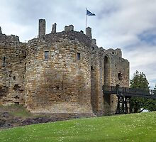 The 13th-century Keep, Dirleton Castle, Scotland by Miles Gray