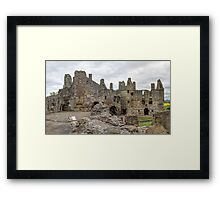 The Ruins of Dirleton Castle. Scotland (Panoramic) Framed Print