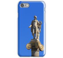 Statue of Apollon on the column, Athens, Greece iPhone Case/Skin