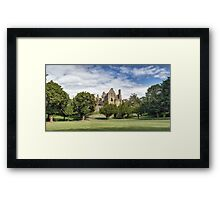 Panoramic View of Dirleton Castle from the Bowling Green Framed Print