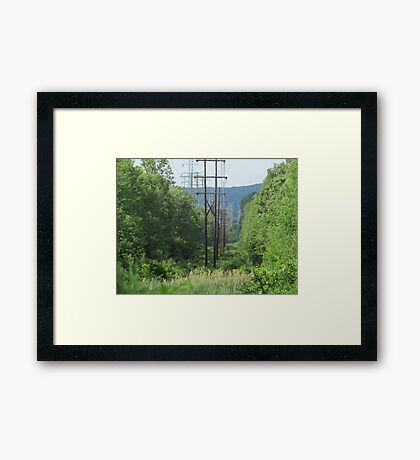 Powered Nature Framed Print