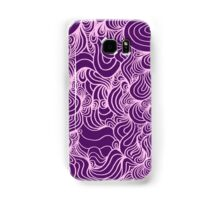 PSYCHOLINES Phone Case- Dark Purple/Light Pink Samsung Galaxy Case/Skin