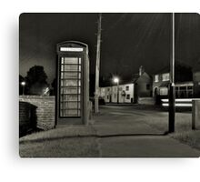 The Village Telephone Canvas Print