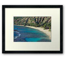 Hanuma Bay Beach Framed Print