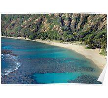 Hanuma Bay Beach Poster